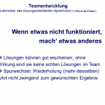 Leitmotive - Team- und Gremienentwicklung - kifas GmbH