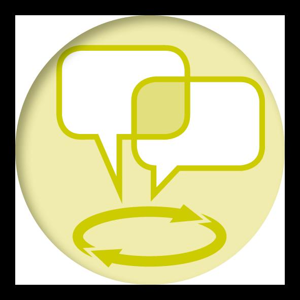 Piktogramm - Dialog und Prozessbegleitung - kifas GmbH