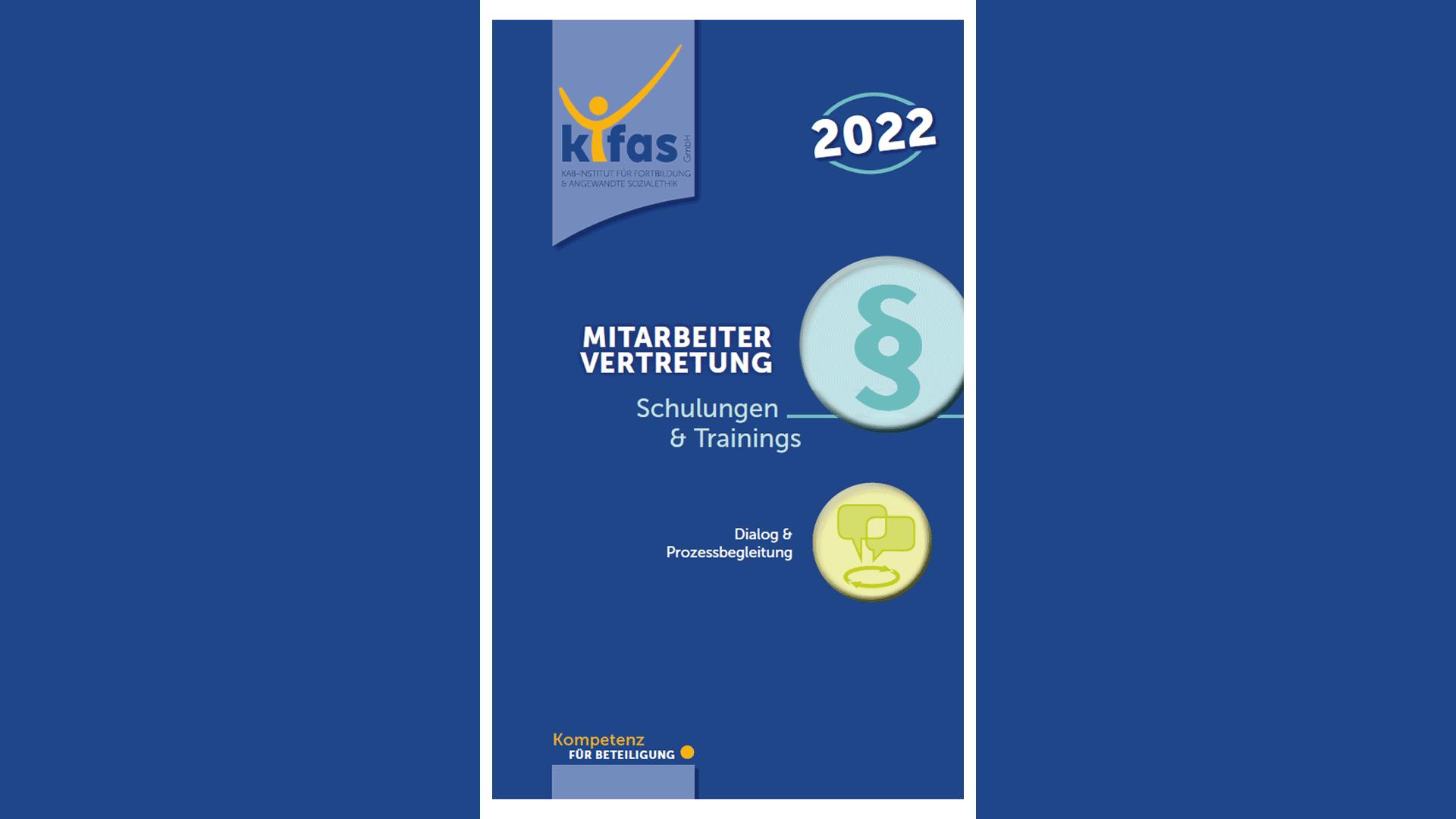 1. Schulungen & Trainings für Mitarbeitervertretung 2022 - kifas GmbH